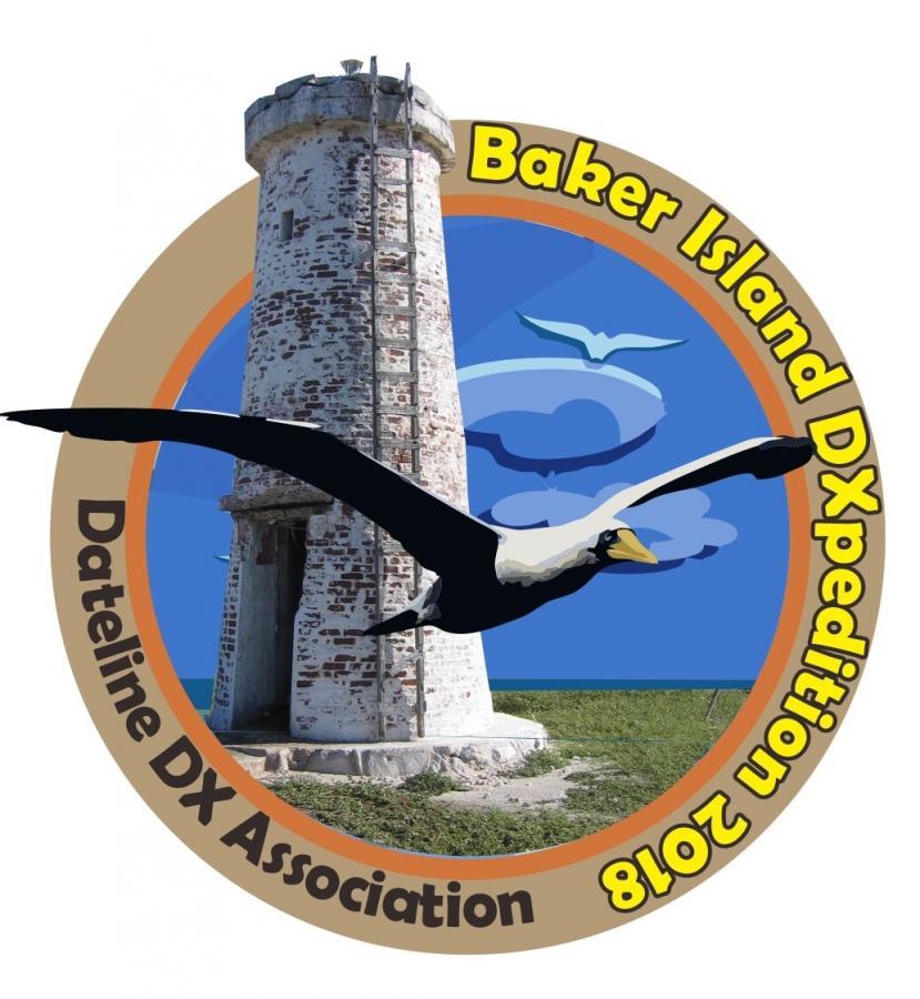 KH1/KH7Z Baker Island Logo