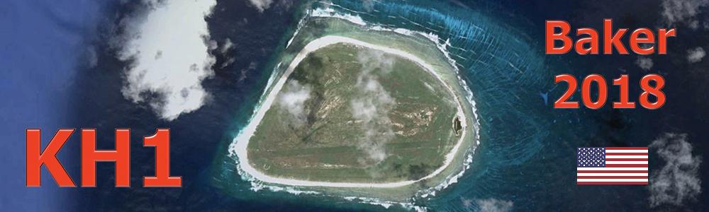 KH1/KH7Z Остров Бейкер DX экспедиция Флаг