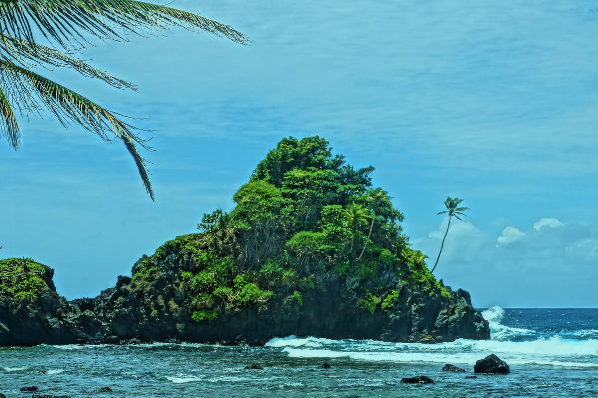 KH8/W5MJ Camel Rock, American Samoa.