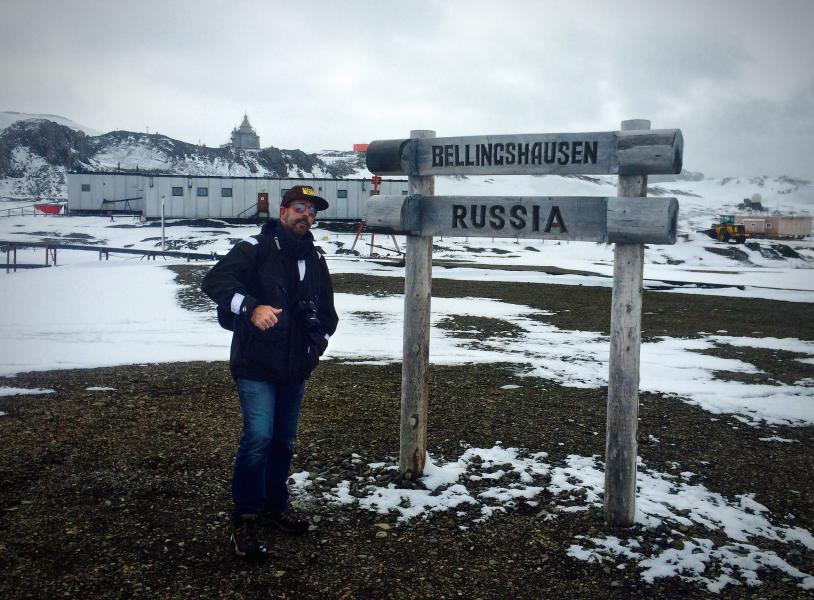 Bellinghausen Station King George Island South Shetland Islands RI1ANO