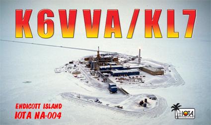 KL7/K6VVA Endicott Island