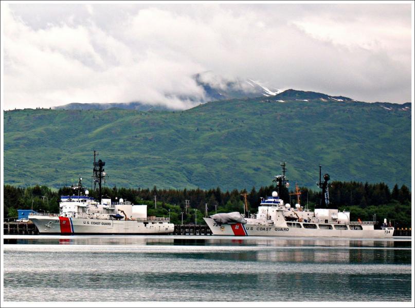 Остров Кадьяк KL7/VK3FY DX Новости Залив женщин, Аляска.