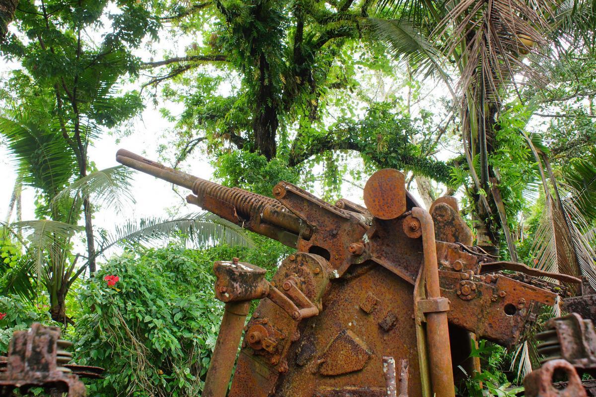 Остров Корор T88RH DX Новости Японский танк времен Второй Мировой войны.