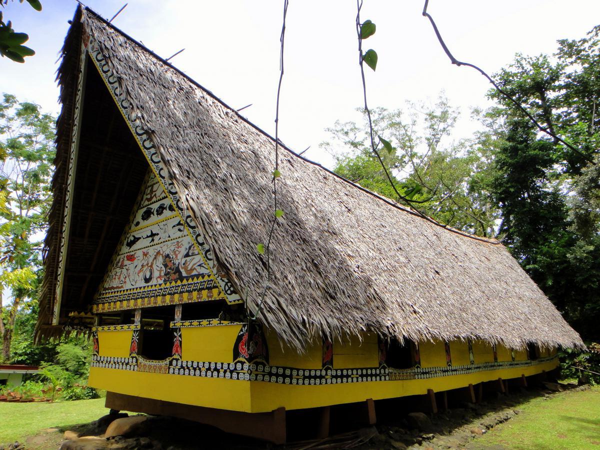 Koror Island T88RH Belau National Museum Palau