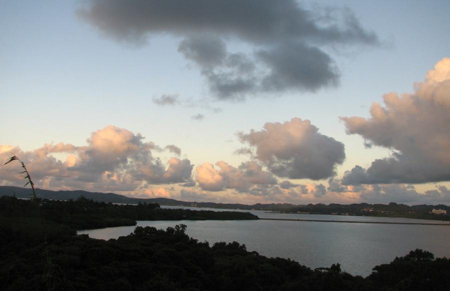 Остров Корор T88WM Палау Закат