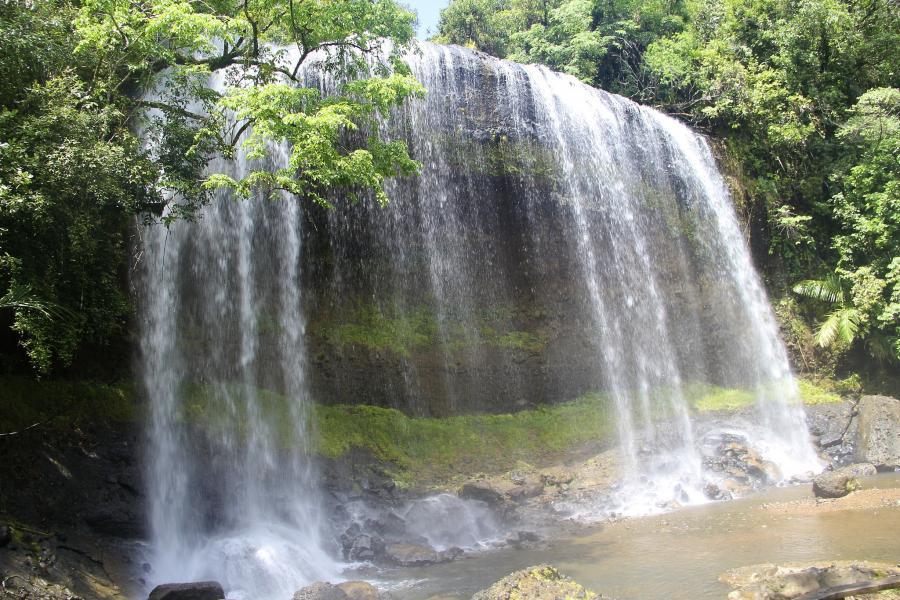 Koror Island T8KA Tourist attractions spot Palau Waterfall