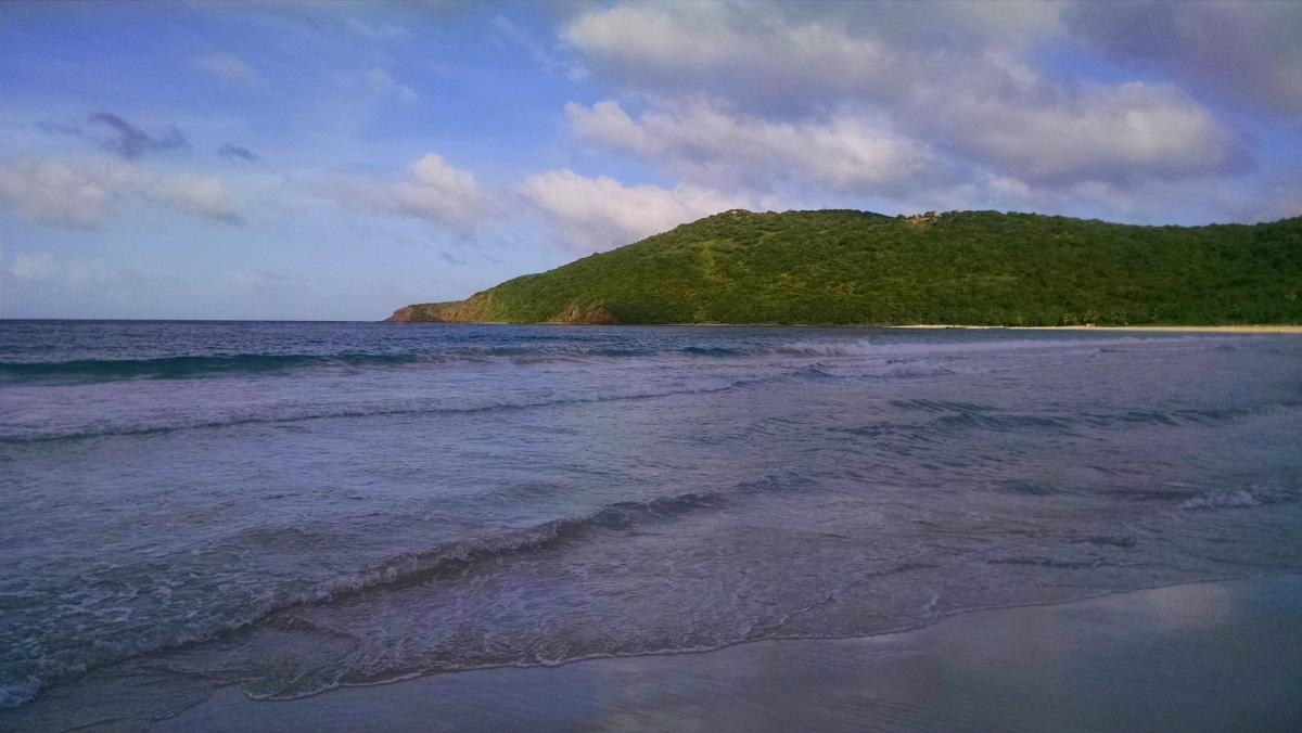 KP3RE Flamenco Beach, Culebra Island. Tourist attractions spot