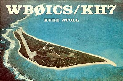 Kure Island WB0ICS/KH7 QSL