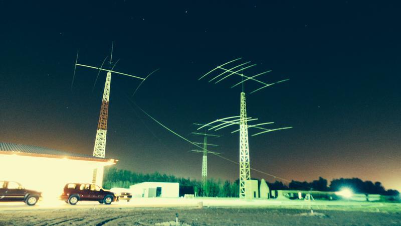 Kuwait 9K2HN Antennas