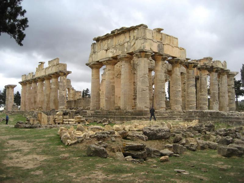 Ливия 5A5A Туристические достопримечательности Храм Зевса