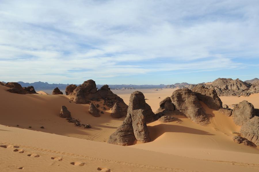 Ливия 5A5A Пустыня Акакус