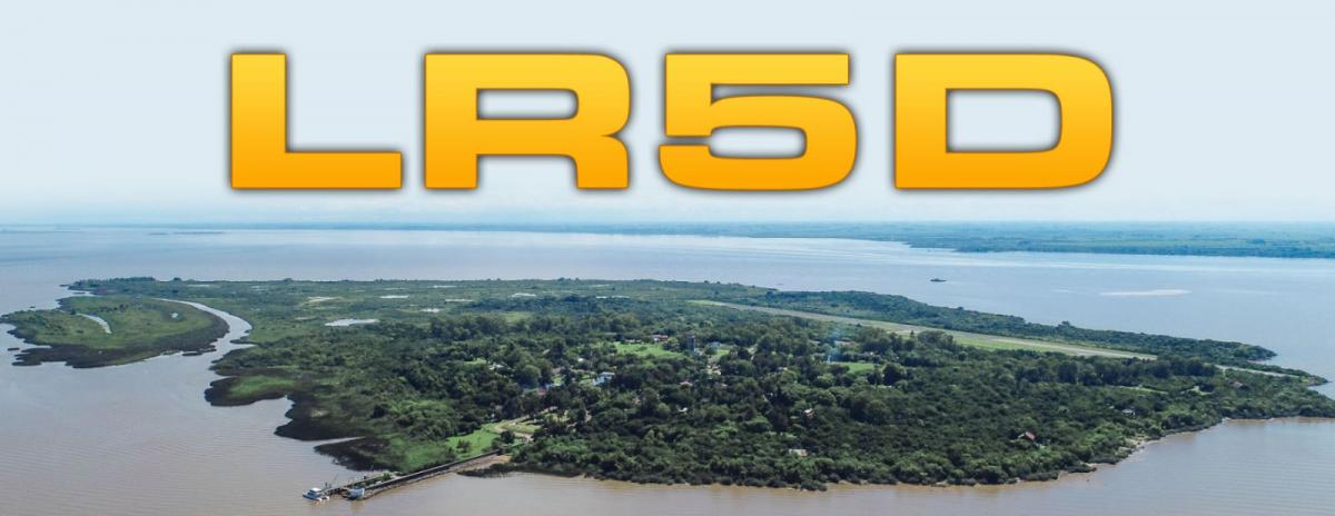 LR5D Martin Garcia Island DX News Banner