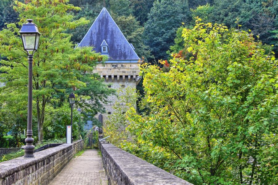 Luxembourg LX44FF Tourist attractions spot