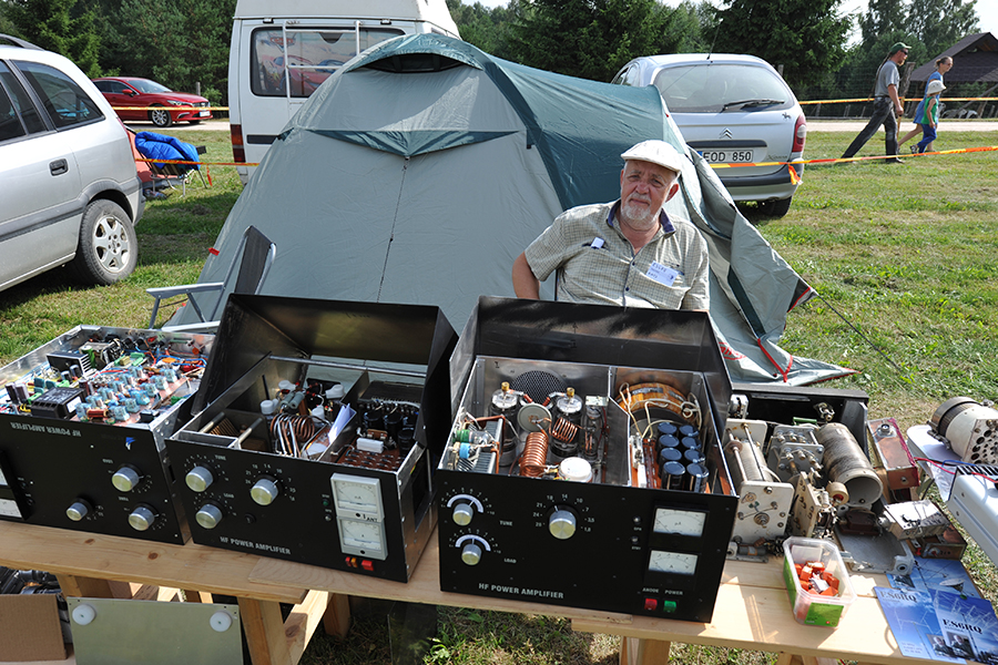 Lithuanian Hamfest 2018 ES6RQ Amplifiers