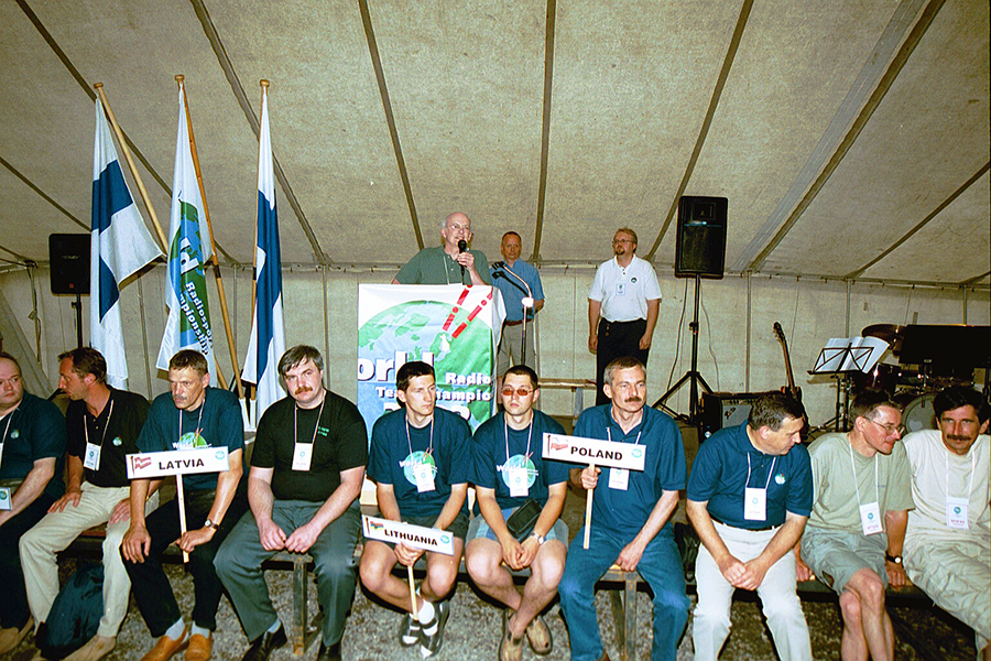 Lithuanian Team WRTC 2002 Finland LY1DS LY2TA