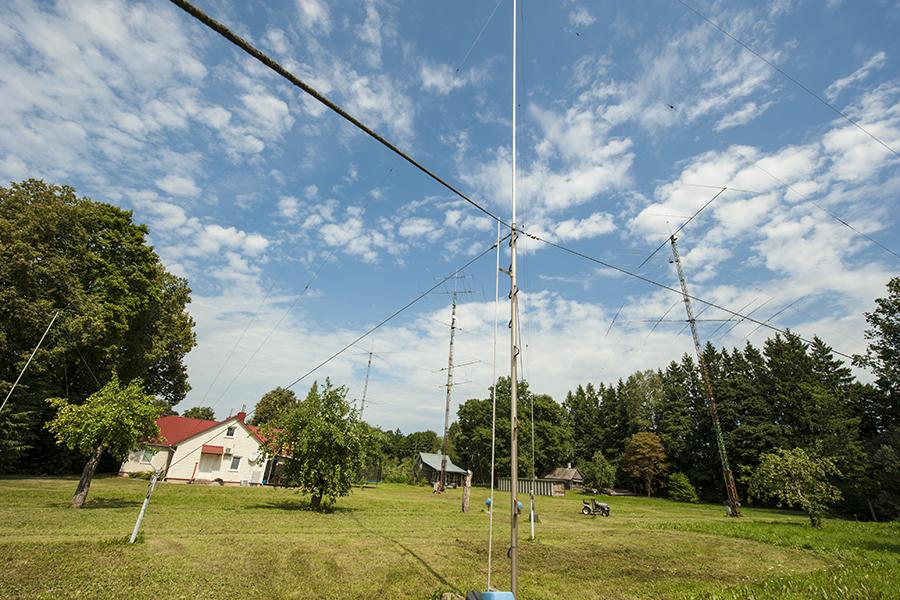 LY5R Lithuania Antennas farm