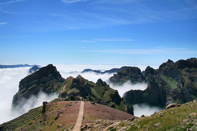 Madeira Island CT9/DF6QV DX News Pico Areeiro