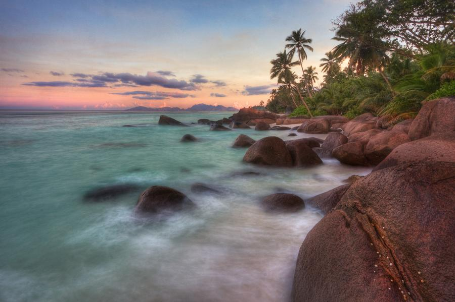 Mahe Island S79J Sunset, Silhouette Island, Seychelles