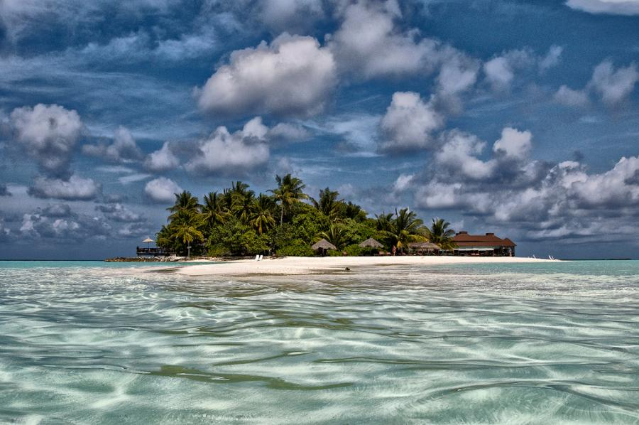 Maldive Islands 8Q7ND Tourist attractions spot Ranveli Island