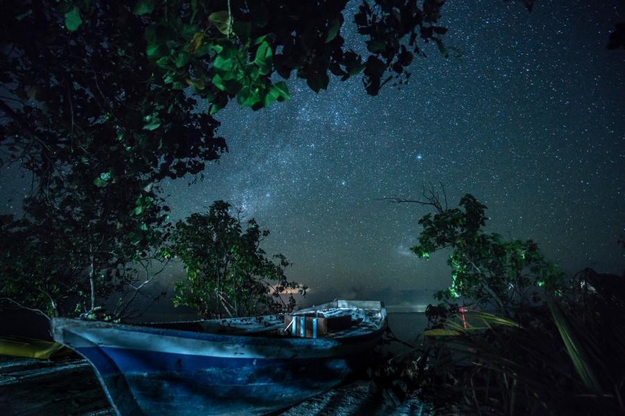 Мальдивские острова 8Q7RB DX Новости Звездное небо