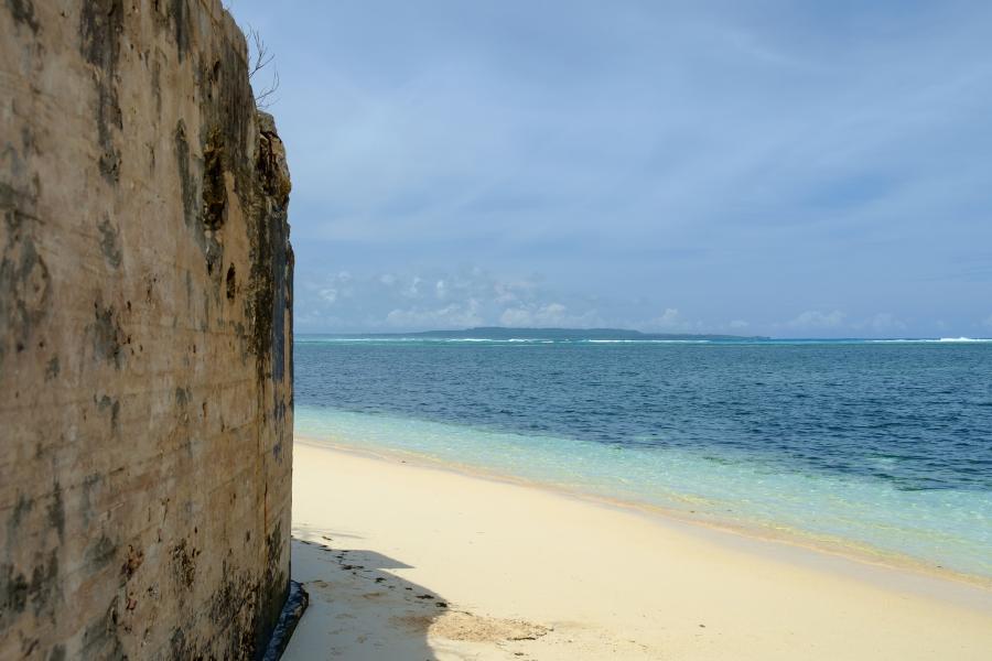 Марианские острова KH0/JA1LPH DX Новости Пляж Остров Сайпан.