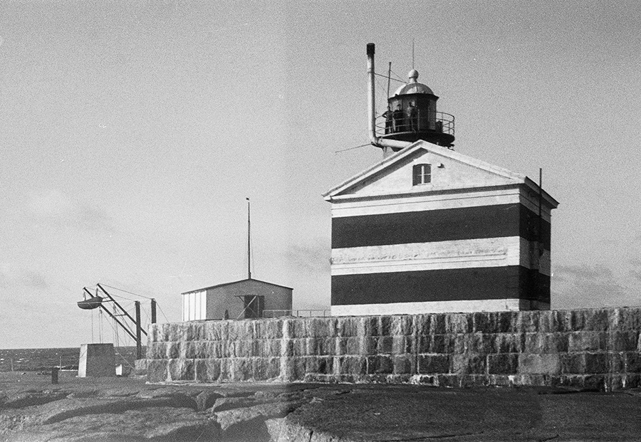 Market Reef Light House Merket Island 1942