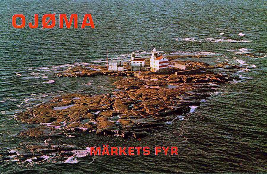 Market Reef OJ0MA QSL 1970