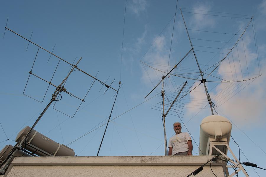 Mauritius 3B8CW Antennas