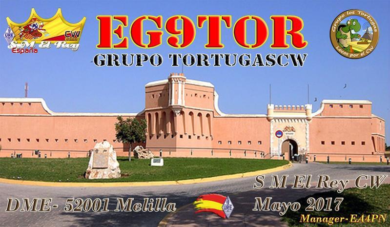Мелилья EG9TOR ED9T Соревнования Король Испании KAS