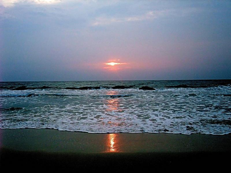 Mindanao Island VK3FY/DU8 Tourist attractions spot Sunset.