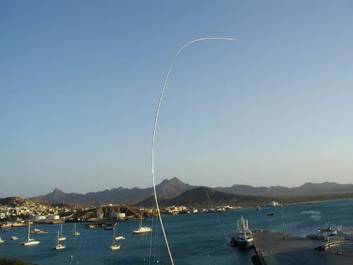 Минделу Остров Сан Висенти Кабо Верде Вертикал на диапазон 160м