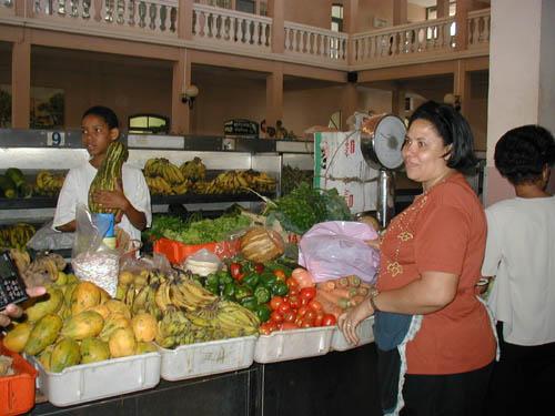 Минделу Остров Сан Висенти Кабо Верде Рынок