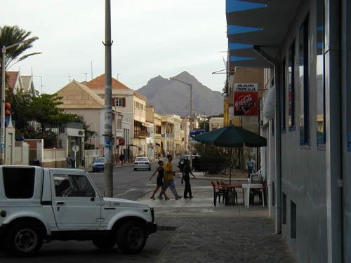 Минделу Остров Сан Висенти Кабо Верде Улица