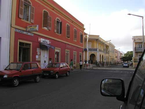Минделу Остров Сан Висенти Улица