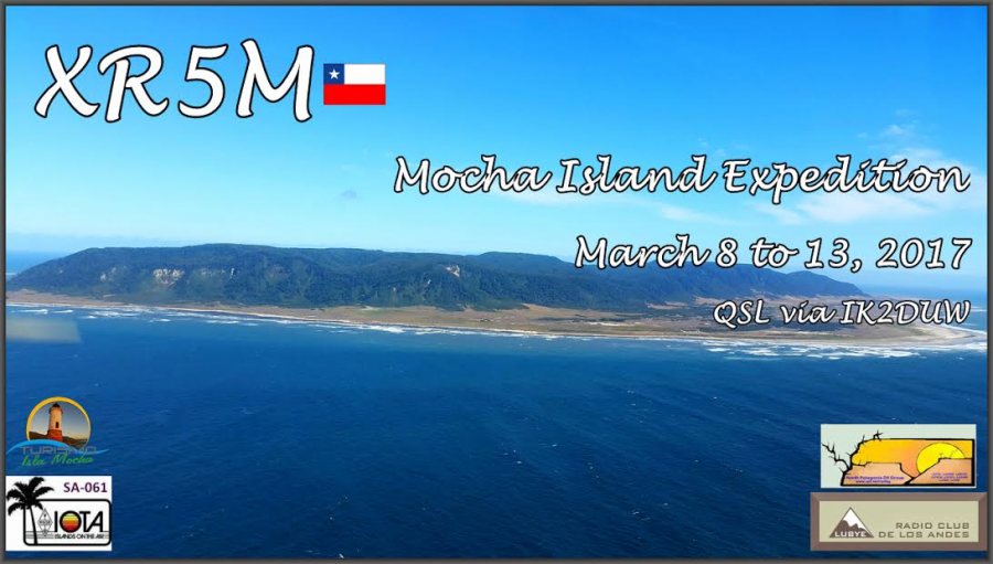 Mocha Island XR5M DX News