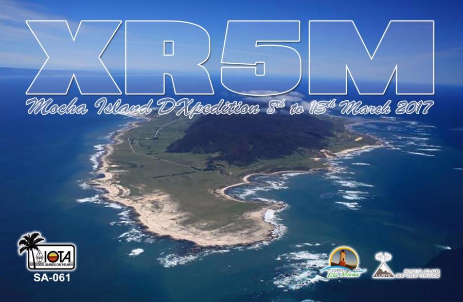 Остров Моча XR5M