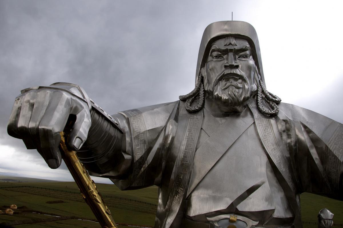 Mongolia JT5KK Genghis Khan Monument