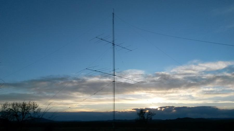 Mongolia JT5MA DX News Antennas JT5DX Amateur Radio Contest Station.