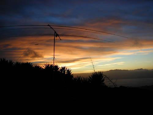 Монте Верде Остров Сан Висенти Кабо Верде C3S Закат