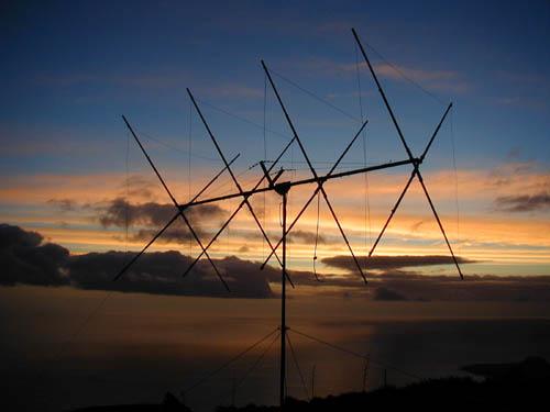 Монте Верде Остров Сан Висенти Кабо Верде Восход WPX SSB 2002