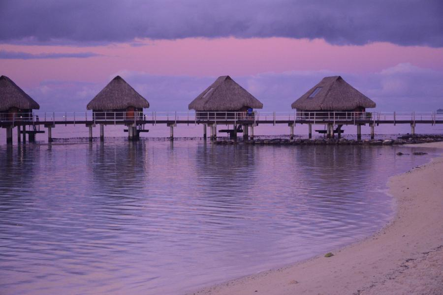 Moorea Island TX5EG DX News Sunset French Polynesia
