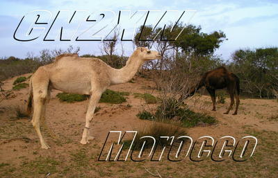 Morocco CN2XW QSL
