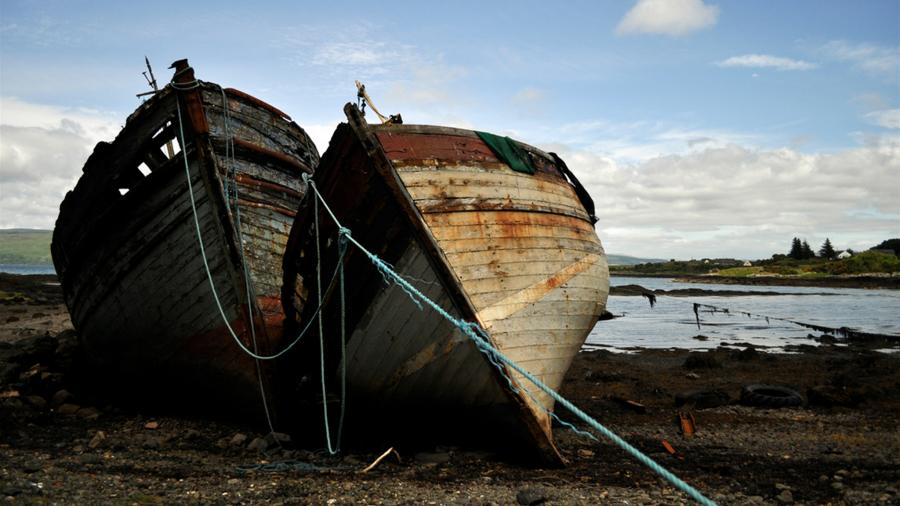 Mull Island 2M0GUA Boats