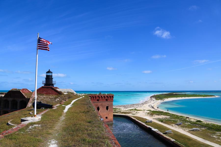 Dry Tortugas Islands N4T Fort Jefferson, Dry Tortugas National Park.