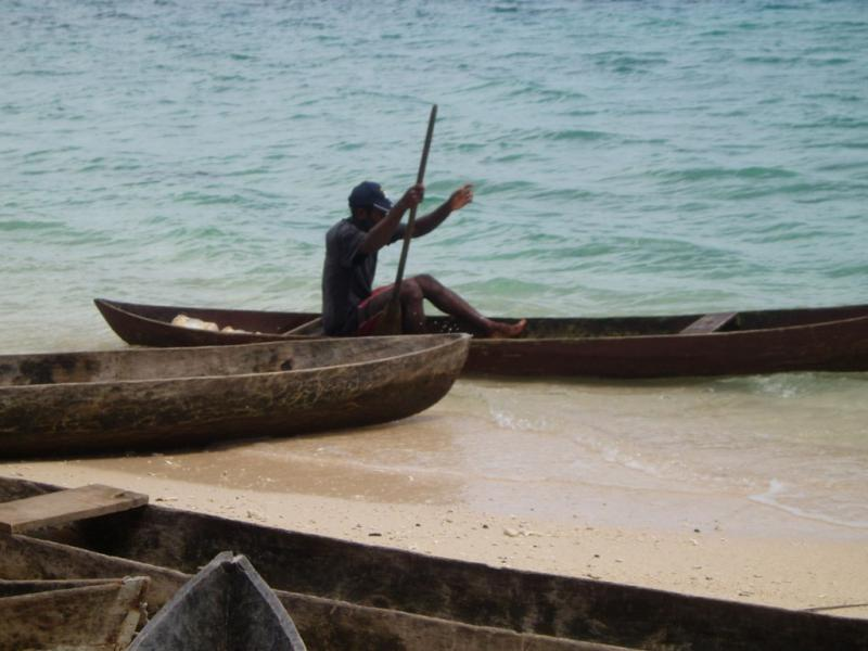 Остров Нендо Провинция Темоту H40FN Туристические достопримечательности Каноэ