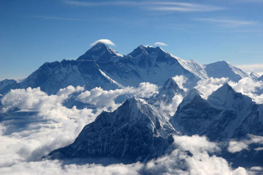 Nepal 9N7NZ Tourist attractions spot Mount Everest