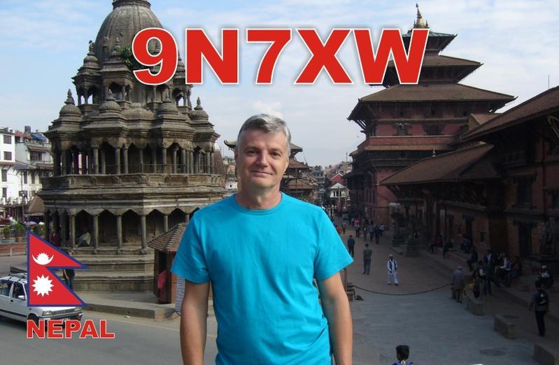 Nepal 9N7XW QSL