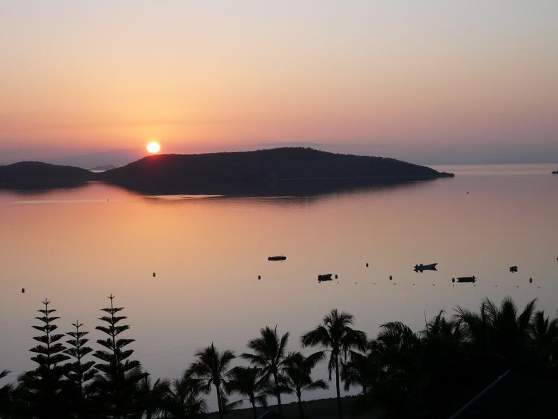 New Caledonia Island TX8F DX News Sunrise, Noumea.