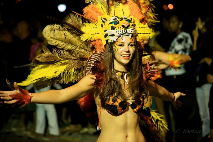 New Caledonia Island TX8F Tourist attractions spot Carnaval, Noumea.
