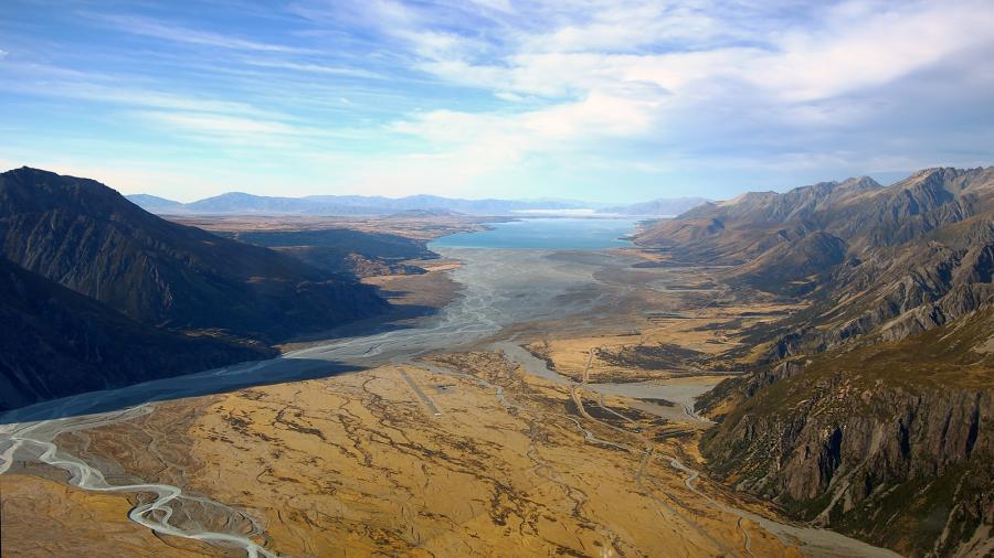 New Zealand ZM4T Tourist attractions spot